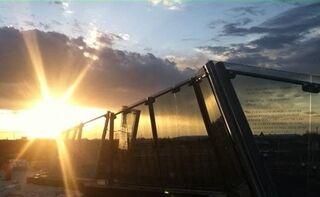 Colorado Freedom memorial sunset