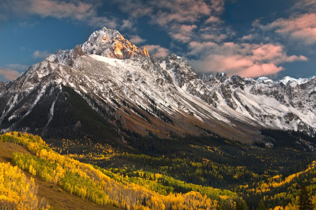 mountains - happy colorado day