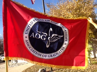 Custom Flag COmpany AOG with Pole Hem and Fringe