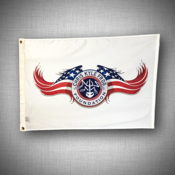 Custom Flag Company Chris Kyle Frog Flag