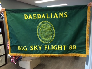 Custom Flag of the week daedalians big sky flight 99