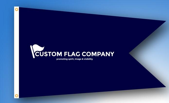 Custom Flag Compay Burgee Swallowtail flag