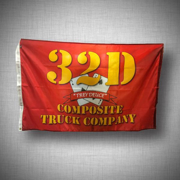 Custom Flag Compan 32D Company Flag