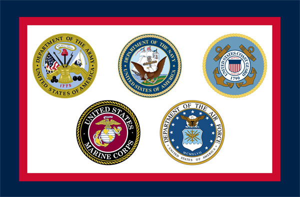 Custom Flag Company Armed Forces Flag