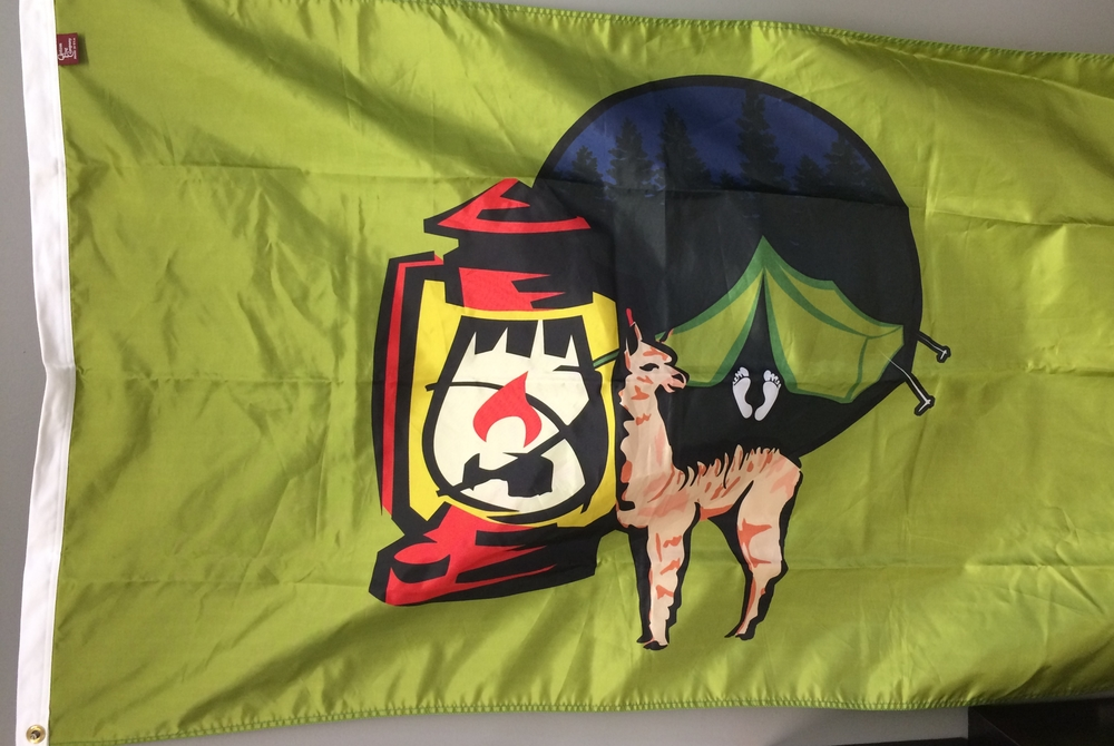 Custom Flag Company Camping Flag