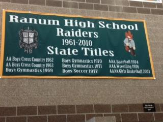 Custom Flag Company School Sport Banner