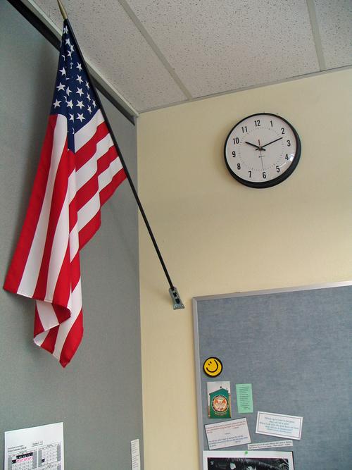 Custom Flag Company Classroom US Flag