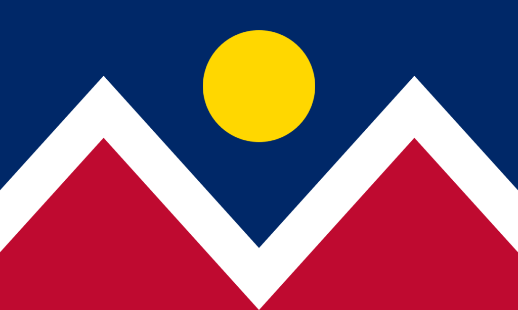 City of Denver Flag