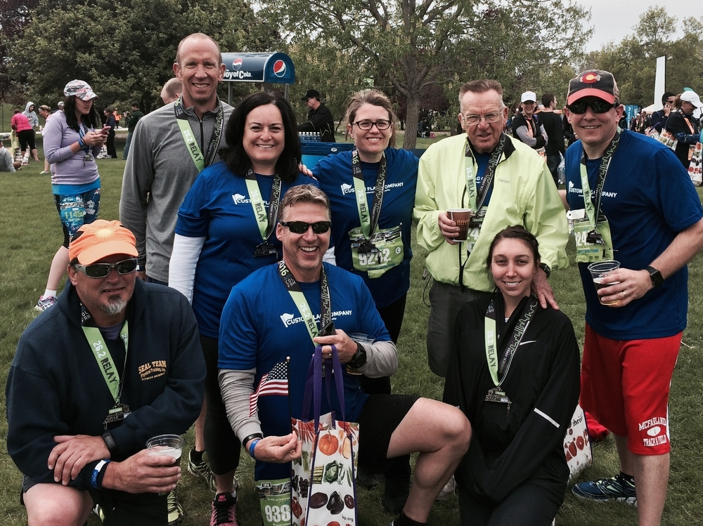 CFC Team Wellness Colfax marathon