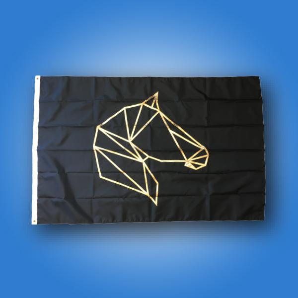 Custom Flag of the week - Gold Horse