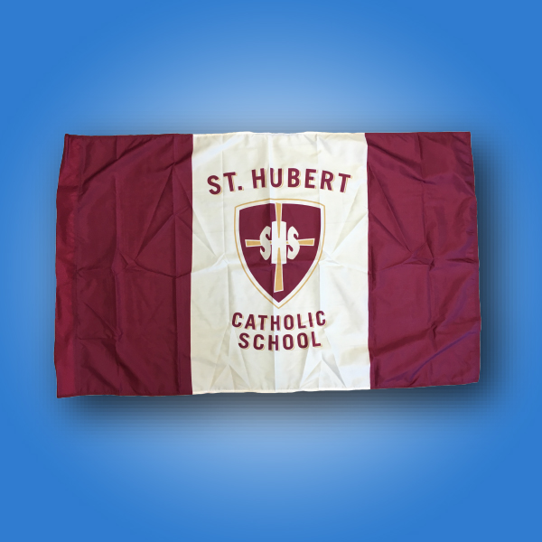 Flag of the week - Saint Hubert School