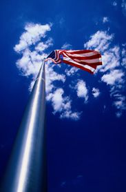 Custom Flag Company Tall Flagpole