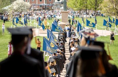 Regis University Graduation Ceremony