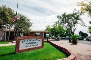 Custom flag company building 2018