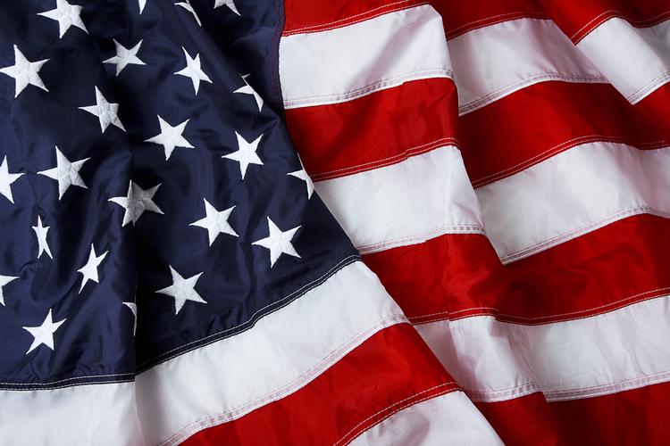 American Flag Nylon Material