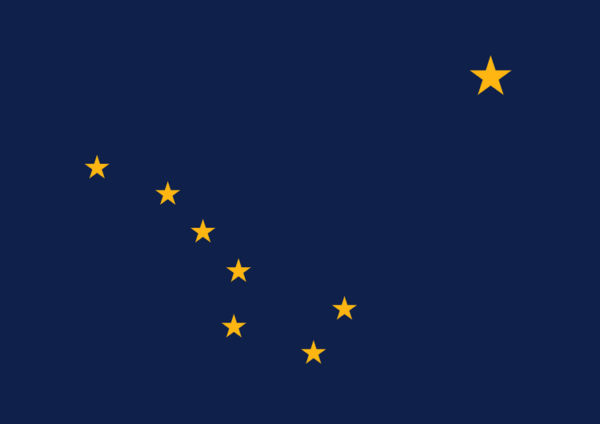 Custom Flag Company State of Alaska Flag