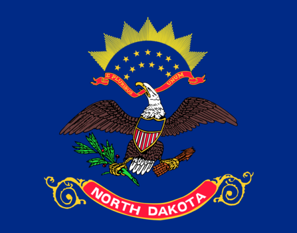 Custom Flag Company State of North Dakota Flag