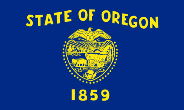 Custom Flag Company State of Oregon Flag