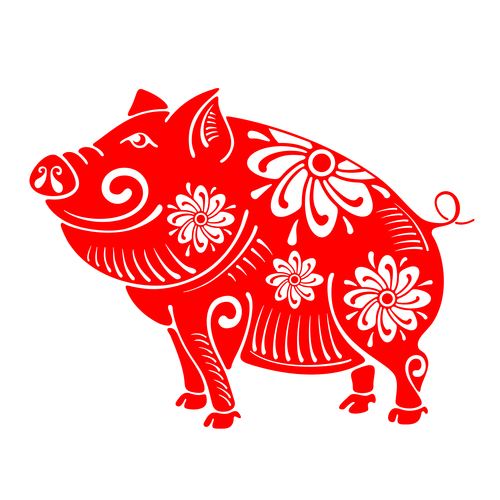 Happy Chinese New Year - Year of the Pig