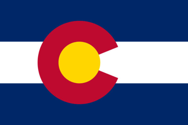 Custom Flag Company State of Colorado Flag