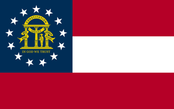 Custom Flag Company State of Georgia Flag
