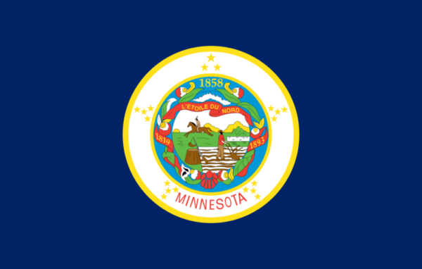 Custom Flag Company State of Minnesota Flag