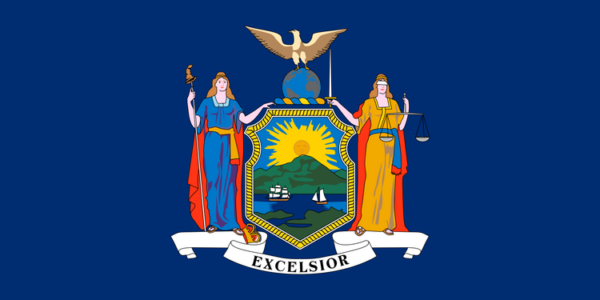 Custom Flag Company State of New York Flag