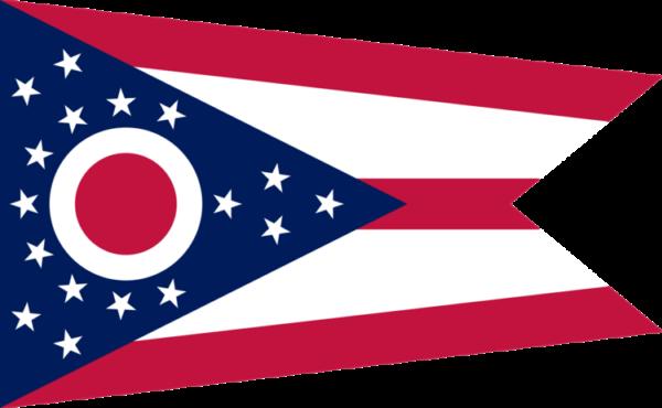 Custom Flag Company State of Ohio Flag