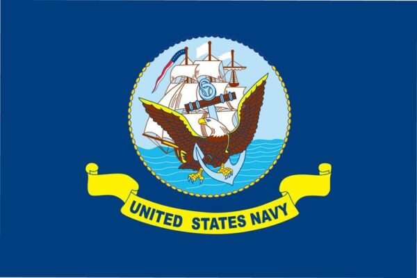 Custom Flag Company US Navy 3x5 Flag