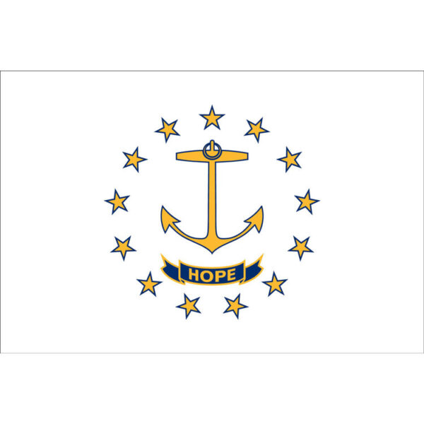 Custom Flag Company State of Rhode Island Flag