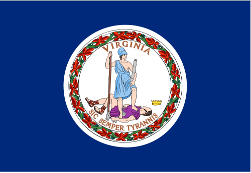 Custom Flag Company State of Virginia Flag