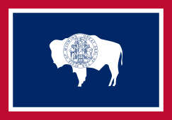 Custom Flag Company State of Wyoming Flag