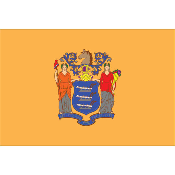 Custom Flag Company State of New Jersey Flag