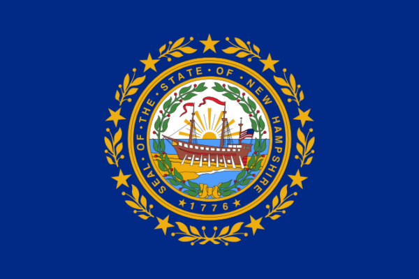 Custom Flag Company State of New Hampshire Flag