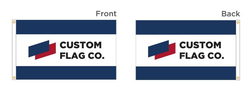Double Sided Flag CFC
