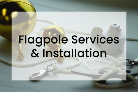 Flagpole parts for flagpole service - CFC