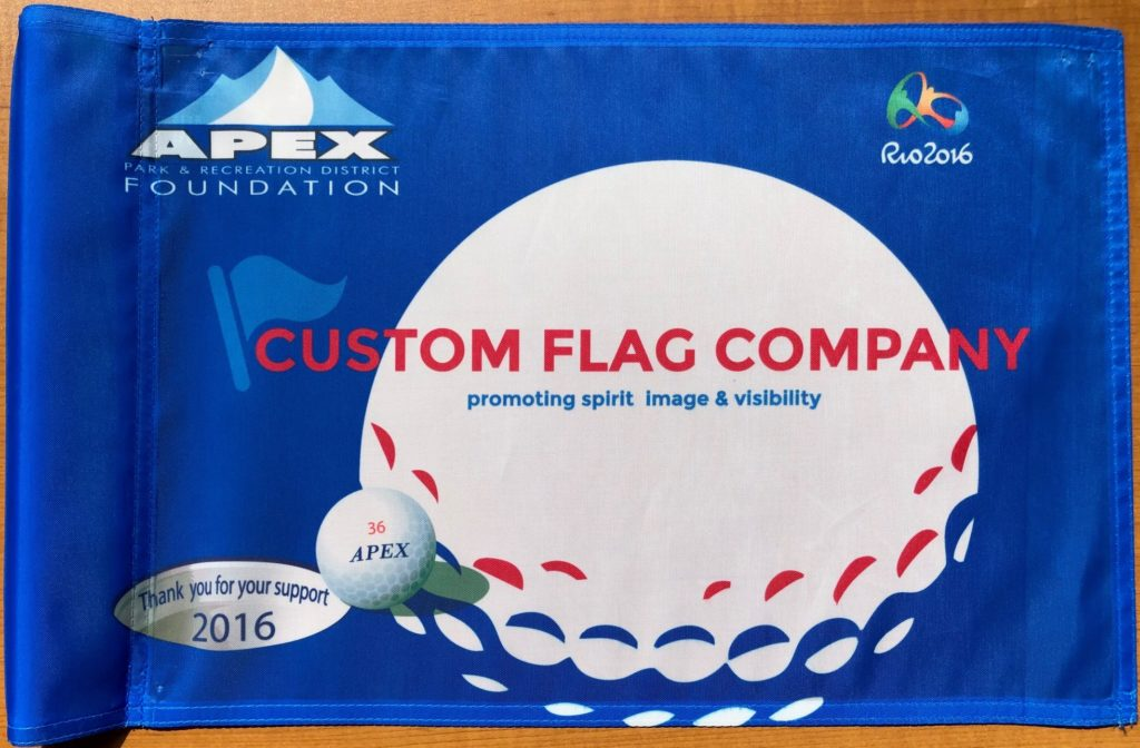 Custom Flag Company Golf Tournament Flag