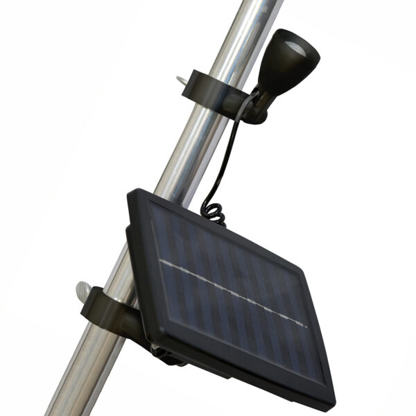Solar Light Pole Attachment
