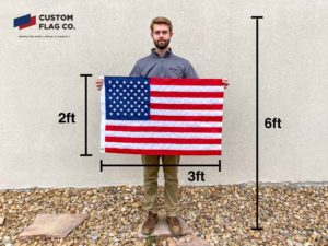 Flag Size 2ft by 3ft CFC