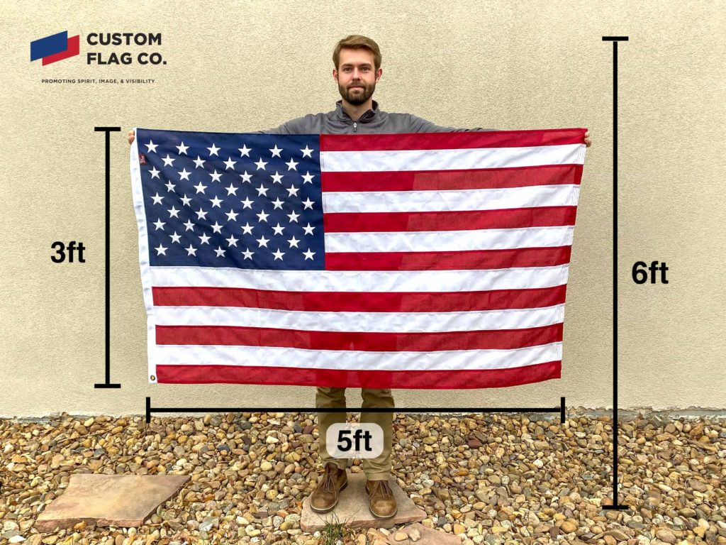 Flag Size 3ft by 5ft CFC