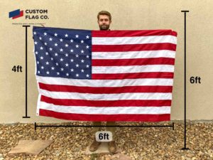 Flag SIze 4ft by 6ft CFC