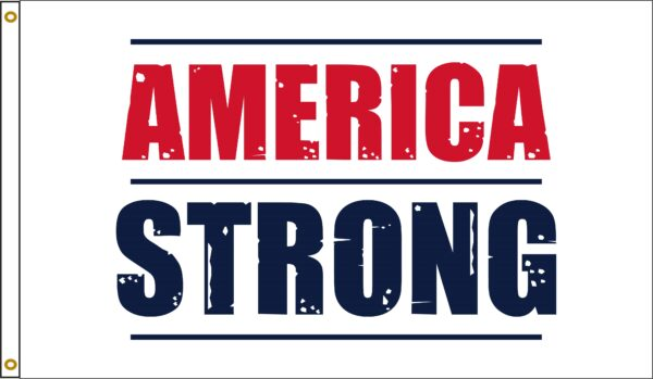 America Strong flag