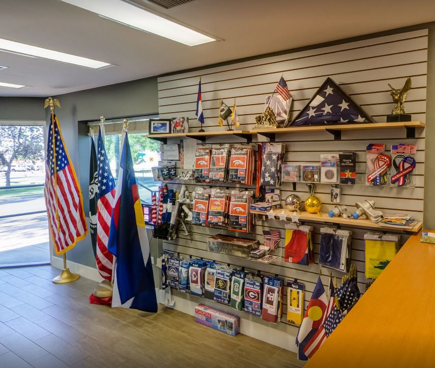 Custom Flag Company Retail Wall Flag Shopping Experience