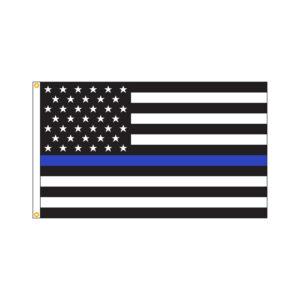American Thin Blue Line Flag
