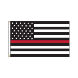 American Thin Red Line Flag