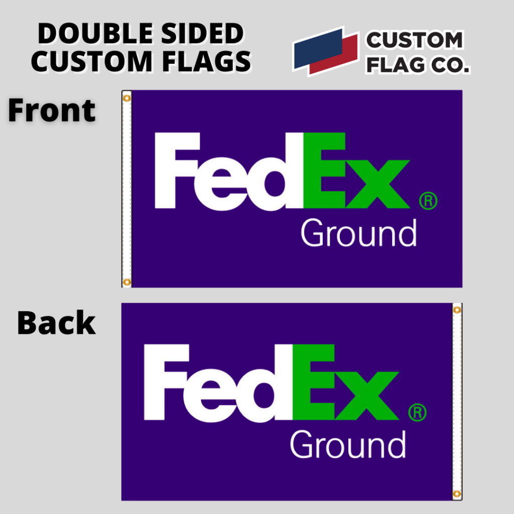 Block Out Polyester Custom Flag