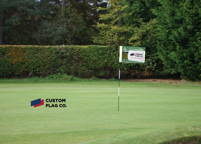 Garden Boat and Golf Tournament flags
