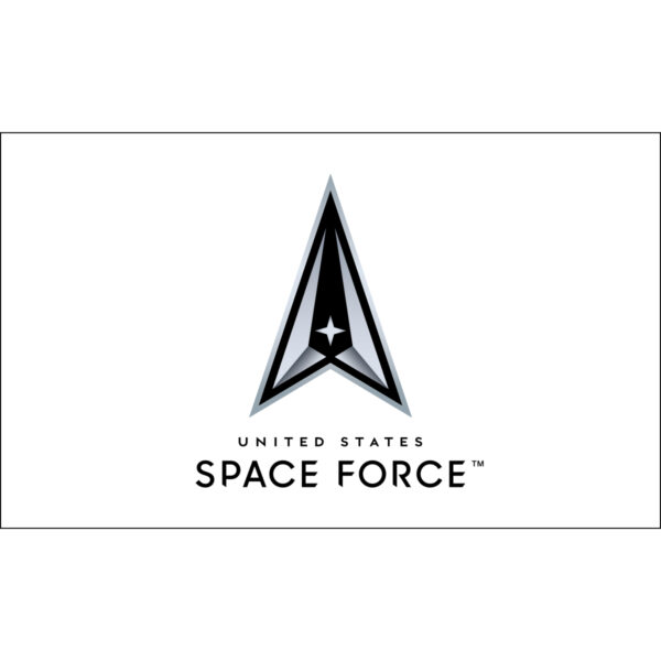 White Space Force Flag