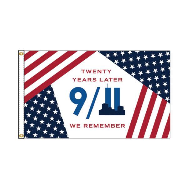 9-11 Twenty Years Later US Flag