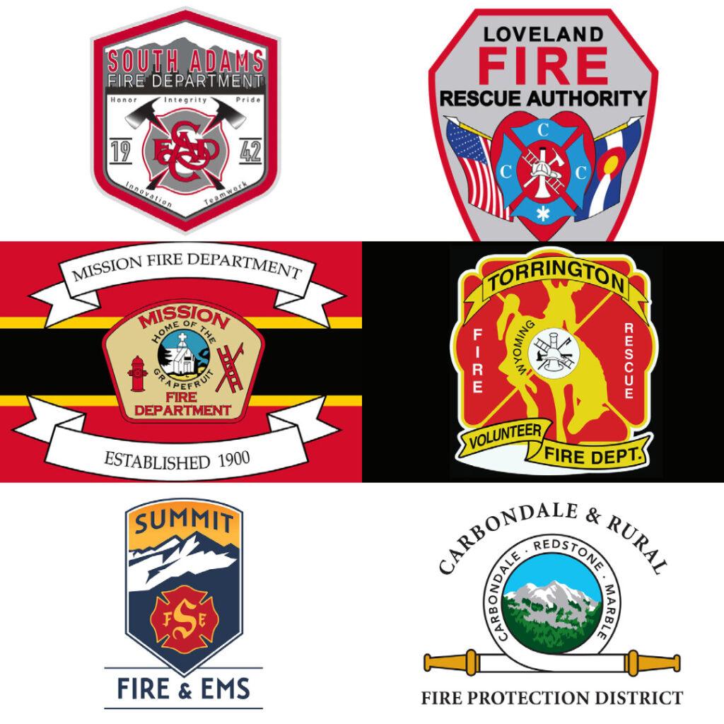 Custom Fire Department Flags